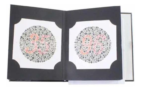 Livro Teste Ishihara Daltonismo