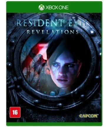 Jogo Midia Fisica Resident Evil Revelations Para Xbox One