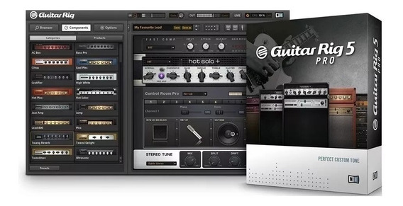 Guitar Rig 5 Pro + Amplitube 4 - Envio Imediato