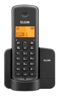 Telefone S/ Fio, Ramal Elgin Display Ilumin/agenda Tsf8000r