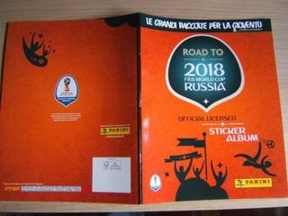 Album Road To World Cup Copa 2018 Panini P/colar