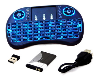 Mini Teclado Android Inalambrico Touchpad Smart Tv Windows