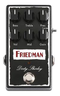 Pedal Friedman Dirty Shirley Overdrive Nuevo Garantia Usa