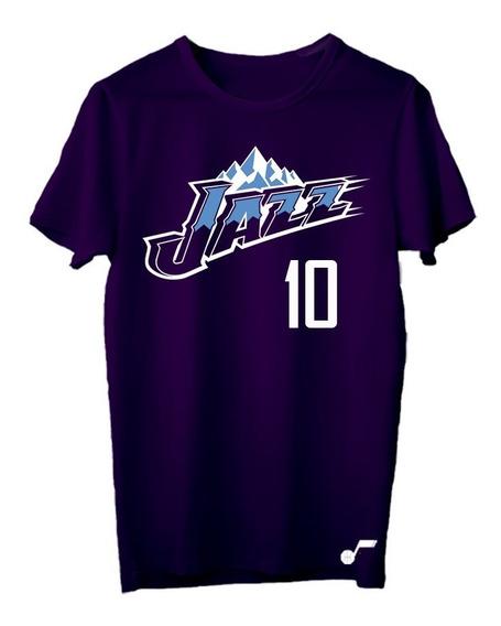 Remera Basket Nba Utah Jazz (006) #10 Mike Conley