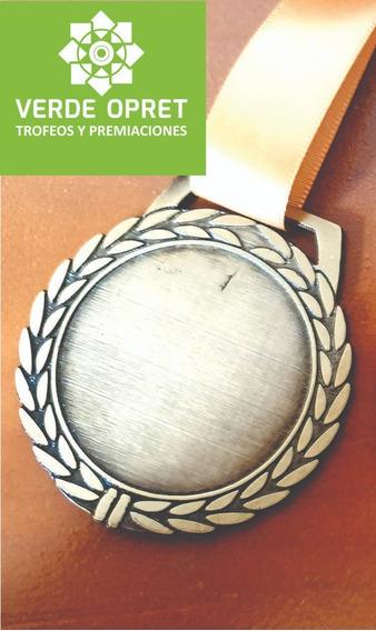 Medallas Deportivas Sin Personalizar , Incluyen Listón X10