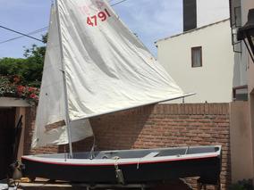 Remato Bote Velero Con Trailer, Listo Para Navegar