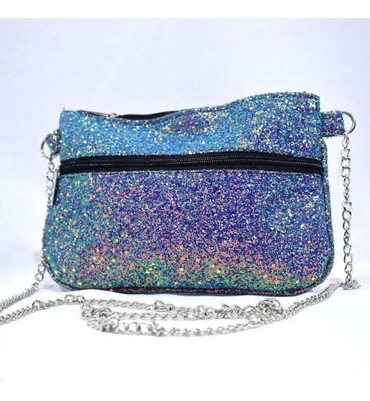 Bolso Glitter Rectangular