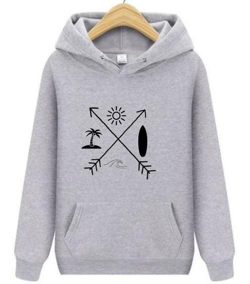 Blusa Casaco Moletom Camisa Ótima Qualidade Surf Para Frio