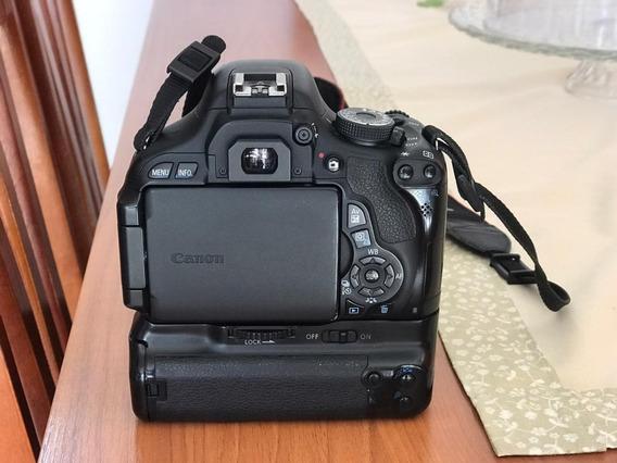 Câmera Fotográfica Canon T3i Com Acessórios