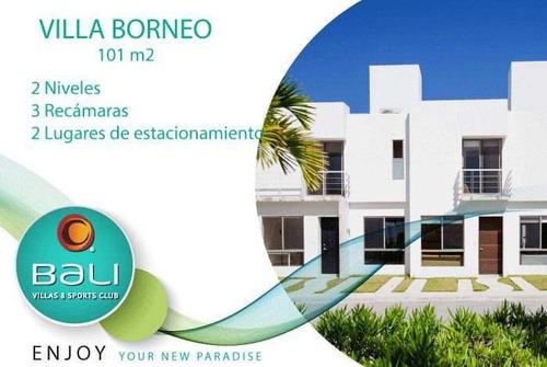 Imagen 1 de 12 de Casa Residencial Bali Playa Del Carmen, ¡oportunidad!