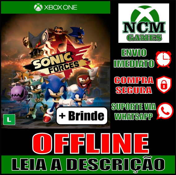 Sonic Forces Xbox One Offline + Brinde