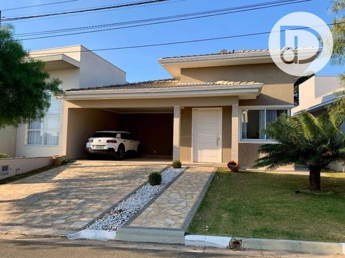 Casa Com 3 Dormitórios À Venda, 202 M² Por R$ 1.380.000,00 - Bosque Dos Cambarás - Vinhedo/sp - Ca3820