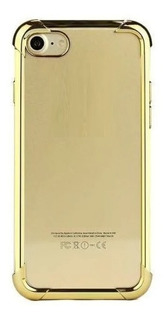Capa Capinha Frente E Verso 360 iPhone 7 8 Dourada Gold
