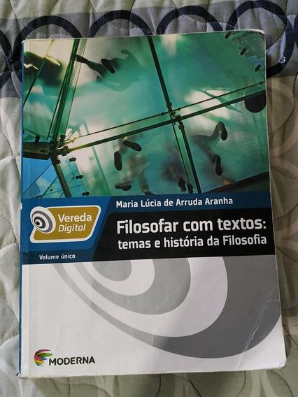 Livro De Filosofia Vol. Único Editora Moderna