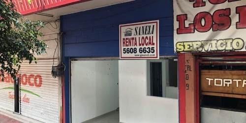 Local En Renta Plaza Tulyehualco