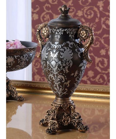 Urna Decorativa Con Tapa Dimontti