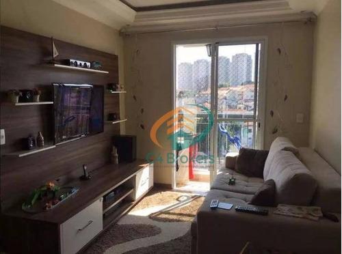 Imagem 1 de 20 de Apartamento Com 3 Dormitórios À Venda, 67 M² Por R$ 335.000,00 - Ponte Grande - Guarulhos/sp - Ap0934