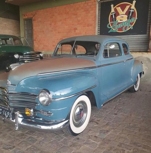 Plymouth Raridade 1948 C/ Placa Preta