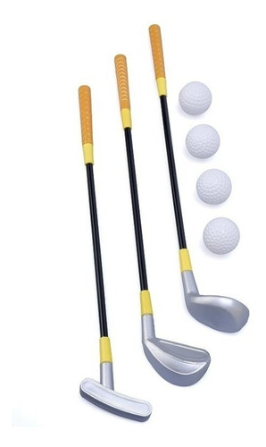 Imagen 1 de 3 de Mini Golf Palo Pelota Juguete Infantil Deportes Set Juego