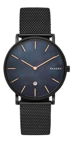 Relógio Skagen Feminino Ref: Skw6472/1pn Slim Black