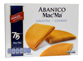 Galleta Macma Abanico 245g