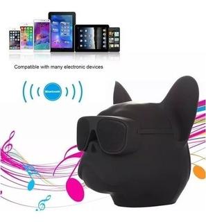 Parlante Bluetooth Portatil Bulldog Perro 10w Android iPhone