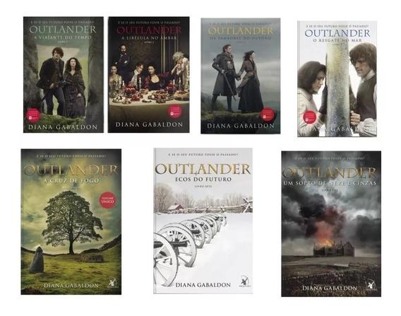 Coleção Completa Serie Outlander Livros 1 2 3 4 5 6 E 7