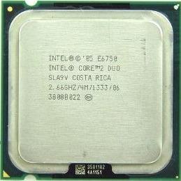 Processador Intel Core 2 Duo E6750 4m 2.00ghz 1333mhz 775 ¨