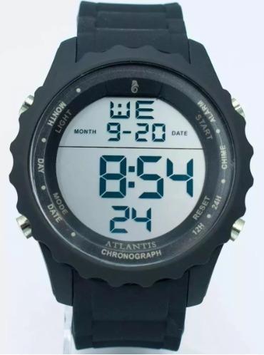 Relógio Masculino Atlantis 7457 Esportivo Natação Corrida