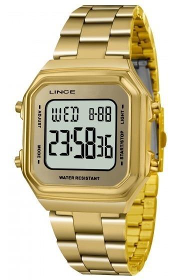 Relógio Lince Sdg616l Bxkx Feminino Dourado - Refinado
