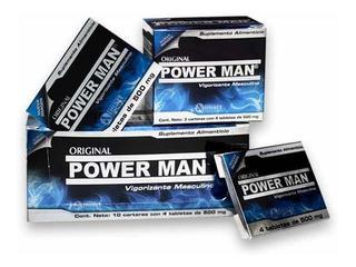 Power Man Cartera Con 4 Pastillas, Envío Gratis En La Cdmx