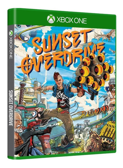 Sunset Overdrive Xbox One Mídia Física Original