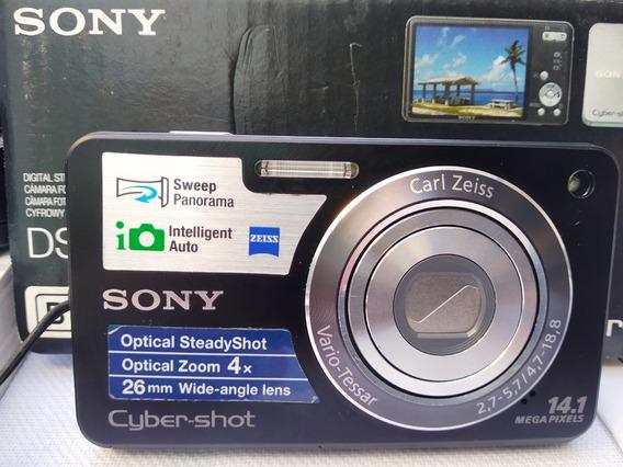Sony Cyber Shot Dsc W360 Carl Zeiss 14.1 Mp 4xoz Completa