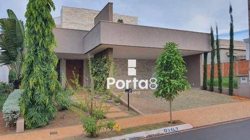 Casa À Venda, 320 M² Por R$ 1.600.000,00 - Condomínio Recanto Do Lago - São José Do Rio Preto/sp - Ca2899