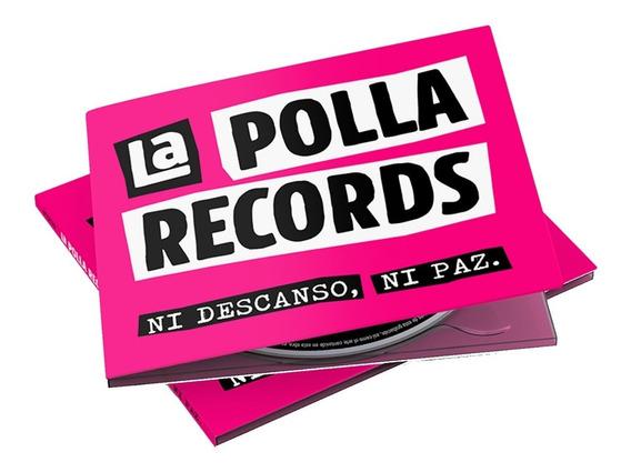 Cd La Polla Records Ni Descanso , Ni Paz * Digipack