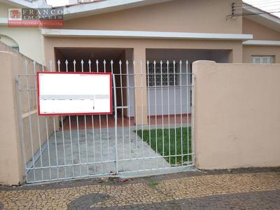 Aluga-se Casa Com Dois Dormitórios Mais Edicula Nos Fundos - Ca0524