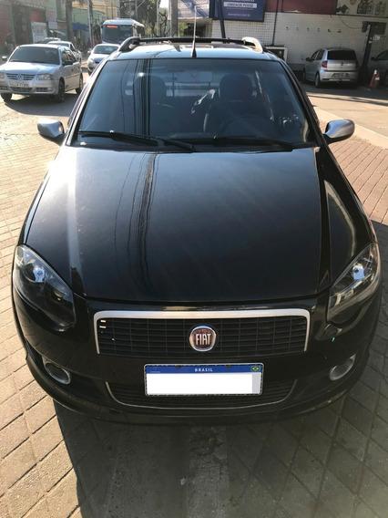 Fiat Strada Ce Sporting 1.8 16v Flex Preta