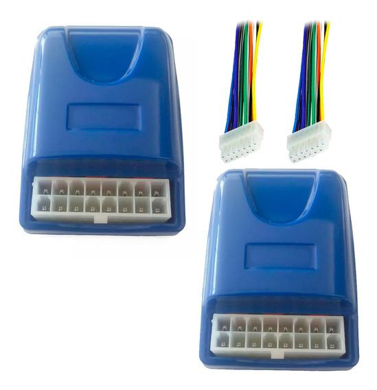 2 Módulos Sensorizados Subida Vidro 22 Ulc Rabicho 16 Vias