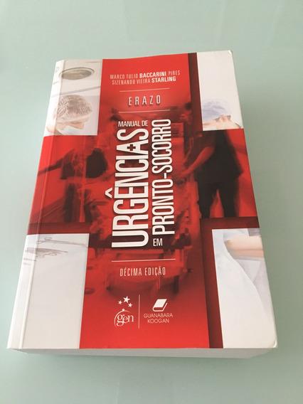 Erazo - Manual De Urgencias Em Pronto-socorro - 10 Ed