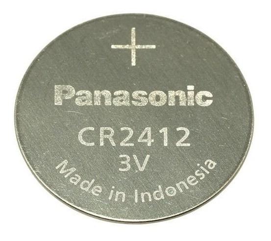 Bateria Panasonic Cr2412 - Cartela C/ 3 Unidades