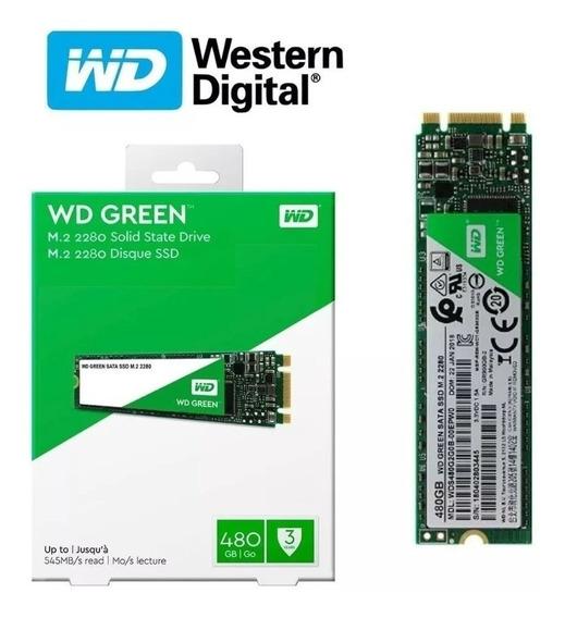 Ssd M2 Wd Green 480gb Para Pc Gamer