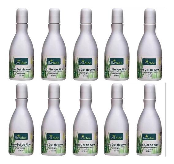 Puro Gel De Aloe Vera Kit 10 Unidades Super Promoção Atacado