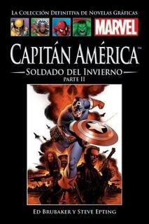 Marvel Salvat Vol.11-capitán América Soldado Invierno P.2