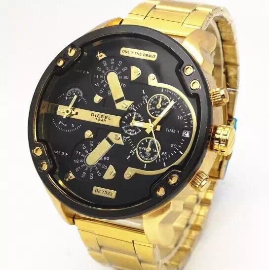 Relógio Masculino Cagarny Aço Inoxidável Promoção