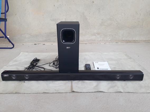 Sound Bar Subwoofer Bluetooth 120w Home Cinema Caixa De Som
