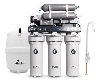 Ósmosis Inversa Bajo Mesada Purificador Agua De Pozo Pura Oi Plus |elimina Arsénico Bacterias Sales Nitratos Flúor