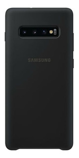 Funda Original Silicon Covr Samsung S10 N10 + Mica 10d Curva