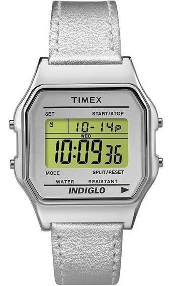 Relógio Timex Retrô Anos 80 Tw2p76800ww/n Revenda Autorizada
