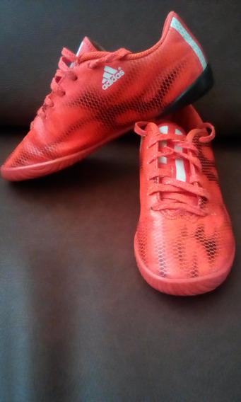 Zapatos adidas Originales De Futbol Sala Modelo F10 Niños