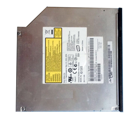 Gravador Dvd Ad-7580s Notebook Intelbras I1030 #287